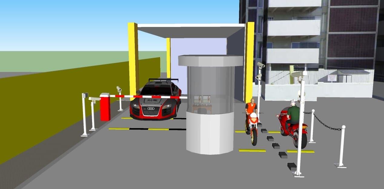 bãi giữ xe thông minh