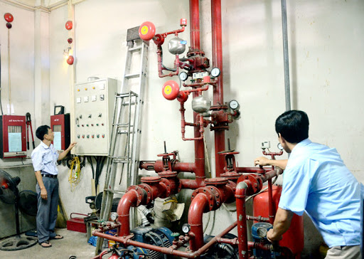hệ thống báo cháy cho nhà xưởng